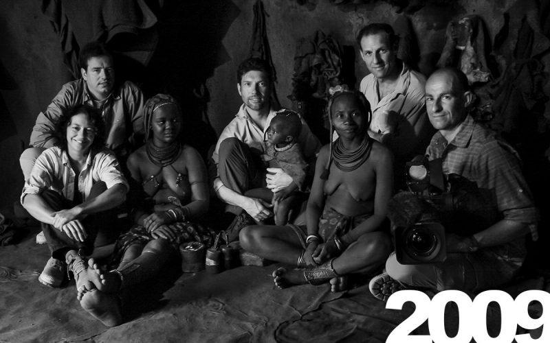 Unser Team bei den Himbas