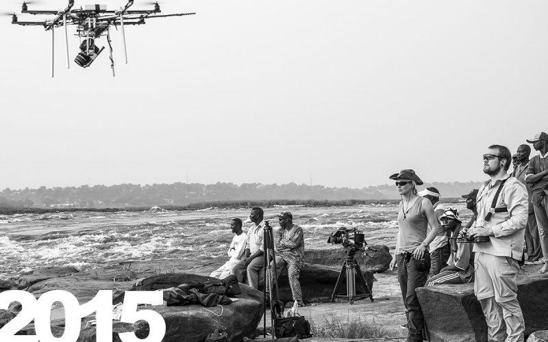 Drohnenaufnahmen am Kongofluss